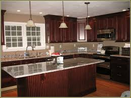 Kitchen Cherry Cabinets What Color Wood Floor With Cherry Cabinets Kitchen Bath Ideas