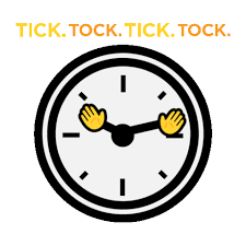He is a croc of monstrous proportions that dwells on the isle of neverland. Clock Tick Tock Sticker By Houseparty For Ios Android Giphy