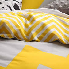 Logan and Mason MARLEY YELLOW Chevron King Size Doona Duvet Quilt ... & Categories. Quilt Cover ... Adamdwight.com