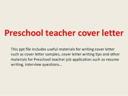 Preschool Teacher Cover Letter 1 638 Cb Best Solutions Of Sample