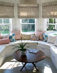 Curved Window Seat