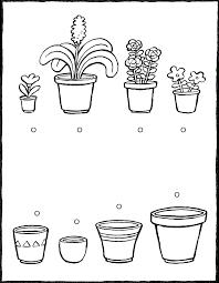 Bloemen Schapen Monochroom Schets Kleurplaten Pagina Antistress Stok