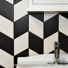 merola tile rhombus smooth black 5 1 2