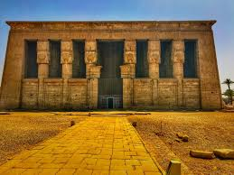 Dendera Chart Dendera Temple Of Hathor One Of The Best Temples In Egypt