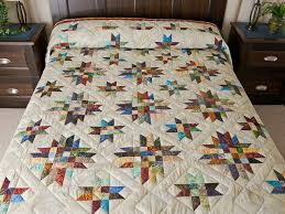 Galaxy Quilt Quilt -- gorgeous adeptly made Amish Quilts from ... & Queen size Galaxy quilt Photo 1 ... Adamdwight.com