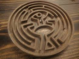 Wooden Maze Game With Ball Bearing Be Seduced by this Western Wooden Marble Maze by Todd Blatt 54