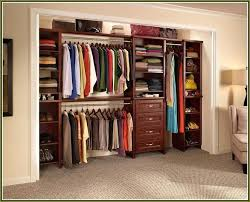 solid wood closet organizer storage ideas