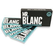<b>Отбеливающие полоски для</b> зубов Mr Blanc; комплект на 14 дней ...