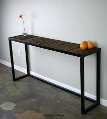 industrial inspired furniture. Industrial Inspired Furniture Console Table Suitable With Look