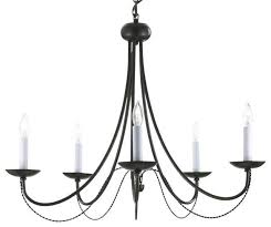 inspiration about versailles wrought iron 5 light chandelier black transitional in wrought iron lights