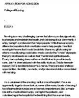 why do you want to be a nurse practitioner essay how to compose  why you want to be a nurse essay