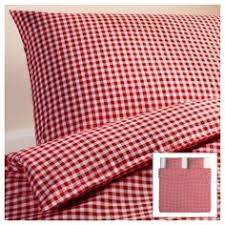 VINTER 2014 Duvet cover and pillowcase(s) - Full/Queen (Double ... & LIAMARIA Quilt cover and 2 pillowcases, red check red check cm Adamdwight.com