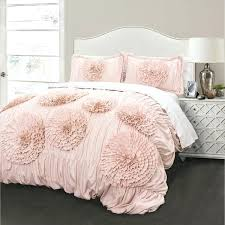 blush pink duvet cover bianca cotton blush stripe pink and grey duvet cover set