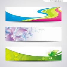 banner design template 4 designer creative banner template design vector material