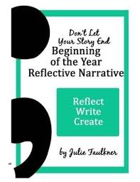 best reflective narrative writing prompts images don t let your story end the semi colon narrative reflective essay and
