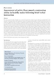 pdf essment of floor muscle
