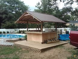 home pool tiki bar. Outdoor Tiki Bar Hut. Poolside Hut Home Pool