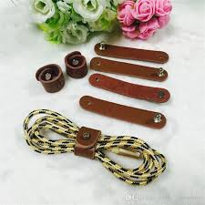 leather cable tie wrap cord organizer cable winder for earphone cable winder cell phone data cables head phone cables from jiahao commerce 0 27 dhgate