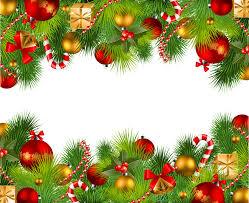 Christmas Clip Art Christmas Border Png Download 2600