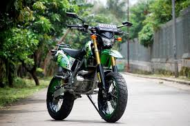 costumize us wanna look different chose supermoto off road trash