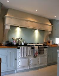 Aga Kitchen Appliances Country Kitchen Stone Canopy Aga Cooker Hood Kitchen