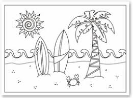 Small Picture Summer Coloring Sheets