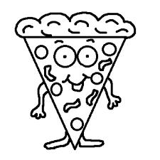 pizza party clipart black and white. Brilliant Black Pizza Clipart Black And White For Party Z