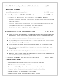 Rf Systems Engineer Sample Resume