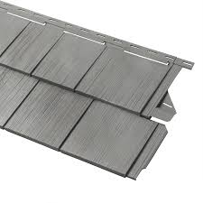 vinyl cedar shake siding. Georgia-Pacific Cedar Spectrum Vinyl Siding Panel Perfection Shake Shaded Gray 15.5-in X S