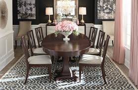 10 oval dining room table set presidio oval dining table bassett furniture contemporary oval dining room