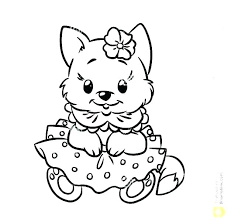 Black And White Coloring Pages Of Dogs Free Printable Dog Coloring