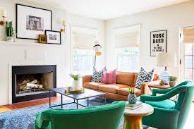 20 ways to make a neutral space pop with color