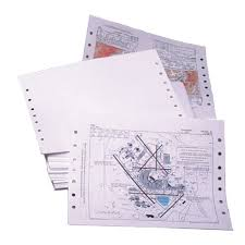 Charting Supplies Jeppview Printer Paper For Jeppesen Binders Charting Paper