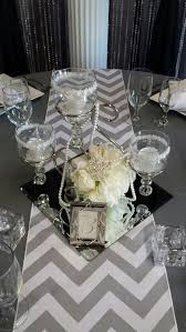 Mirror Tiles For Table Decorations Centerpiece Table Centerpieces Ideas On A Budget Wedding 1