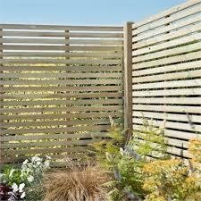 forest slatted fence panel 6ft pack