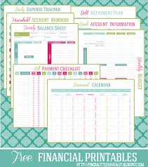 Budget Planners Free 11 Free Budget Printables To Help Get Your Money Under