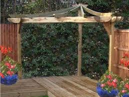 Simple Pergola backyard simple wooden corner pergola corner pergolas for the 3265 by xevi.us