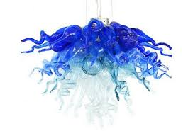 viz art glass wonders of sea chandelier designs