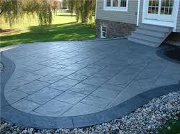 blue stained concrete patio. SureCrete Concrete Patio Repair Blue Stained H