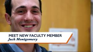 Meet new faculty member Jack Montgomery - YouTube