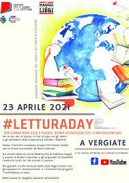 LETTURADAY - 23 aprile 2021 - Giornata mondiale del libro e del diritto  d'autore - SB Laghi