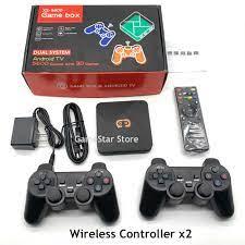 2021 Mới Xuất Sắc Nhất PS5600 Retro TV BOX Chơi Game Dành Cho  PS1/PSP/SFC/NEO/Arcade//GBA/N64 Video Máy Chơi Game Với 5600 Trò Chơi 3D  Trò Chơi Video Game Consoles