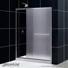 opaque single shower doors. Infinity-Z. Sliding Shower Door Opaque Single Doors