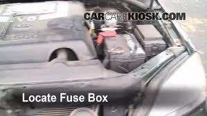 replace a fuse 2003 2009 kia sorento 2003 kia sorento ex 3 5l v6