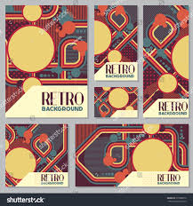 Old retro Vintage style background Design Template Vector Illustration