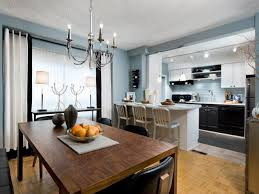 Kitchen With Blue Walls Mission Style Kitchen Cabinets Pictures Ideas From Hgtv Hgtv