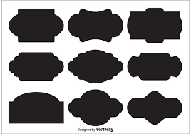 Vector Label Shapes - Download Free Vector Art, Stock Graphics & Images