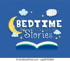 bedtime stories book ilration