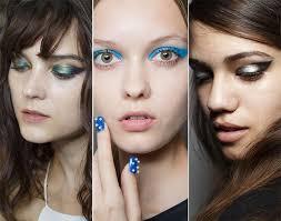 spring summer 2016 makeup trends graphic cat eye swoop