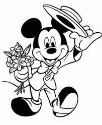 Small Picture Mickey Mouse Mini coloring pages for kids printable free